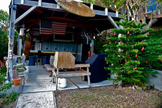 Virgin Islands Campground: pavillon