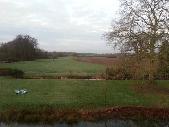 Schlosshotel Gartrop: The endless view towards the west
