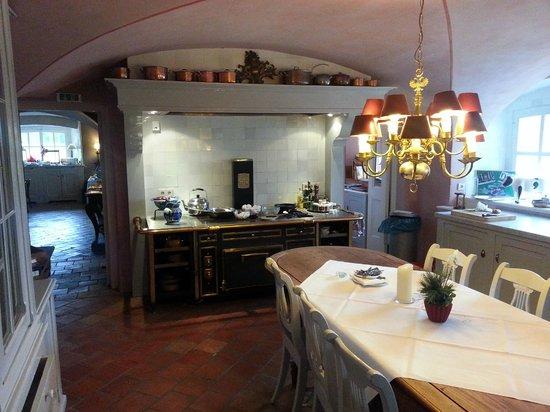 Schlosshotel Gartrop: The kitchen