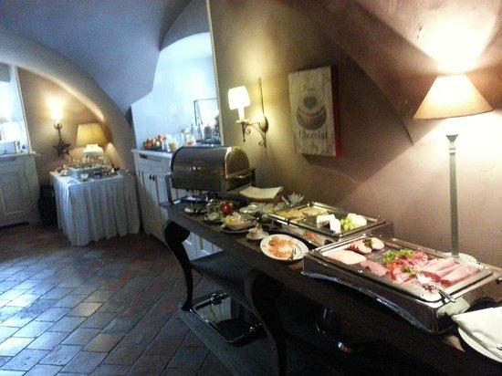 Schlosshotel Gartrop: Breakfast buffet