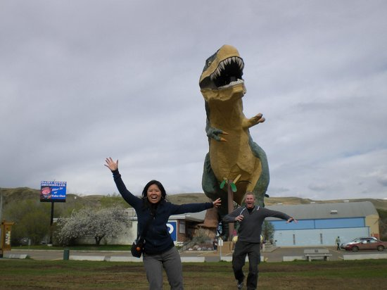 Drumheller, Kanada: running away from it!
