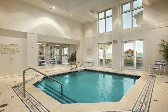 Ramada Plaza Geneva Lakefront Resort: Indoor, Heated Cool-down Pool