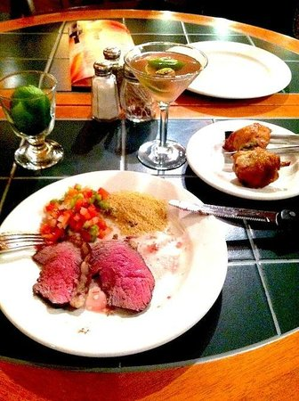 Rios Brazilian Steakhouse : Fabulous non stop beautifully prepared fresh meats
