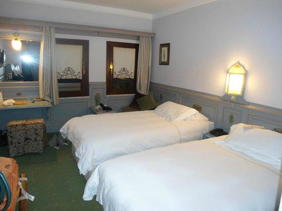 Armada Istanbul Old City Hotel: le tende della stanza sono rimaste abbassate per 2 giorni: meglio della