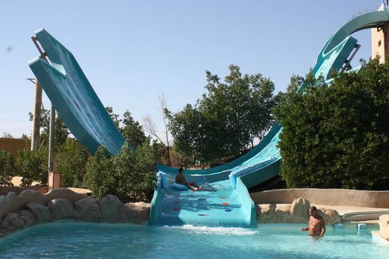 Titanic Beach Spa & Aqua Park : Hotellets aquapark (ingår i all inclusive)