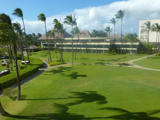 Sheraton Maui Resort & Spa : View of courtyard from our room