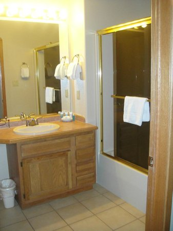 Wyndham Pagosa: Condo bathroom