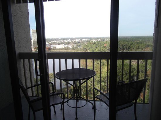 Best Western Lake Buena Vista - Disney Springs Resort Area: Balcony for two