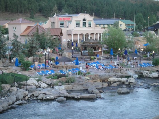 hot springs picture of wyndham pagosa pagosa springs. Black Bedroom Furniture Sets. Home Design Ideas