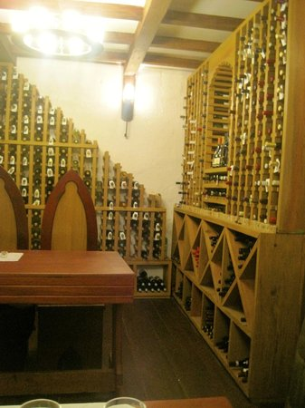 Ti Kaye Resort & Spa: Wine Cellar