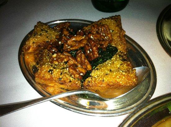 Mr. Chow: Shrimp Toast