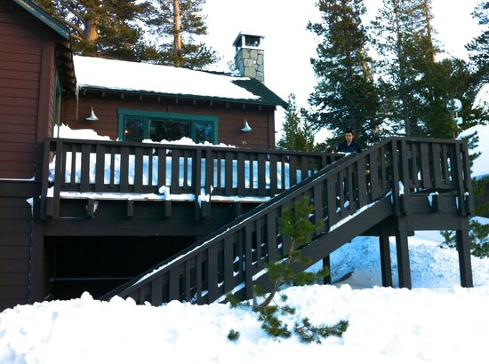 Tamarack Lodge and Resort: One bedroom deluxe cabin exterior
