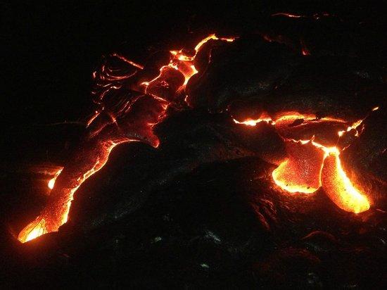 Mt. Kilauea : Lava Cooling