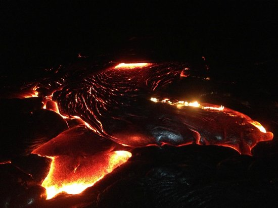 Mt. Kilauea: Lava Cooling
