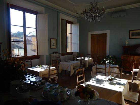 Hotel Palazzo Guadagni: Breakfast room