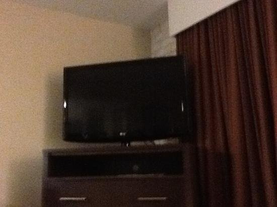 Embassy Suites by HIlton Corpus Christi: Big TV in room