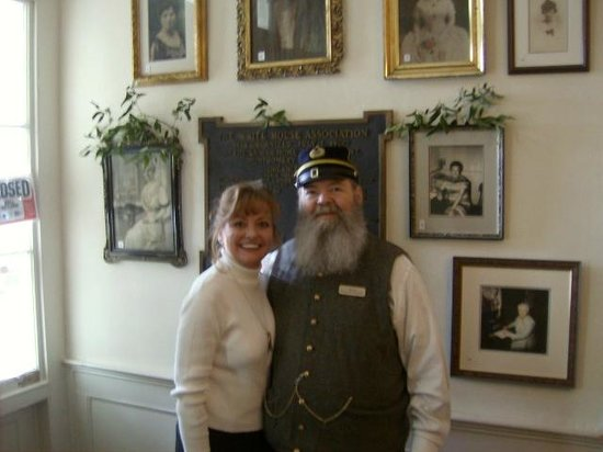 First White House of the Confederacy: Janet Kynard, Founder It Happens in Alabama.com and Henry Paul Howard Tour Guide