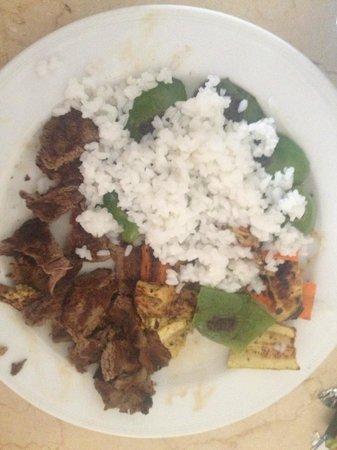 Jaz Dahabeya: Dinner - Special diet