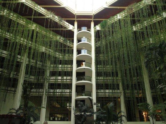Paradisus Cancun: Hotel lobby