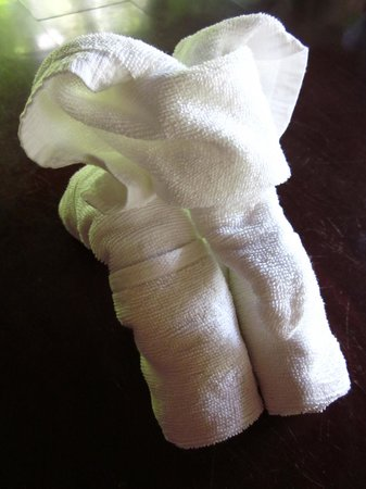 JW Marriott Phuket Resort & Spa: Towel elephant