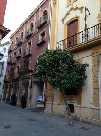 Hotel Dona Maria: la facade