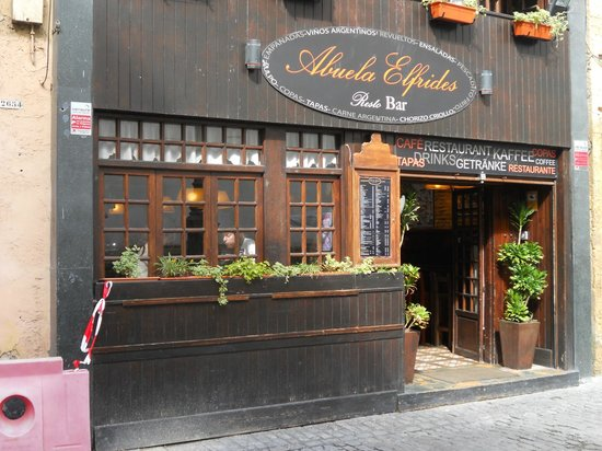 Restaurante Abuela Elfrides: Abuela Elfrides Restaurant, Cadiz, Spain