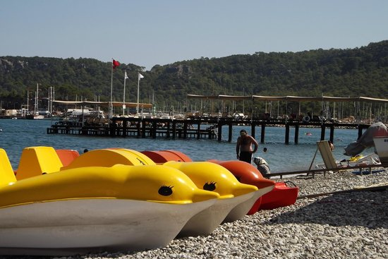 Valeri Beach Hotel Kemer: На пляже