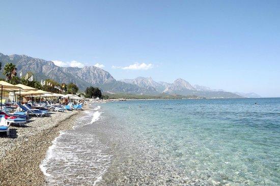فاليري بيتش هوتل: пляж 
