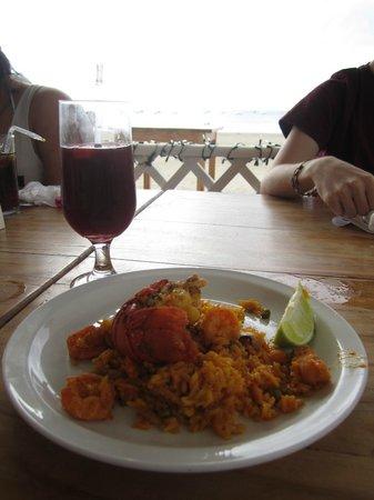 Meson Espanol: Paella and sangria!