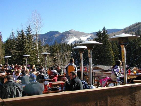 Garfinkel's deck early ski season