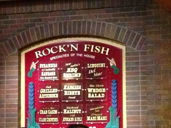 ROCK'N FISH - Laguna Beach: specials.