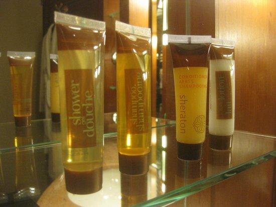 Sheraton Imperial Kuala Lumpur Hotel: バス・アメニティ