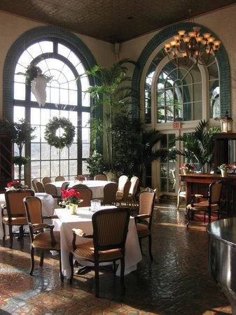 Historic Hotel Bethlehem: Terrace Restaurant