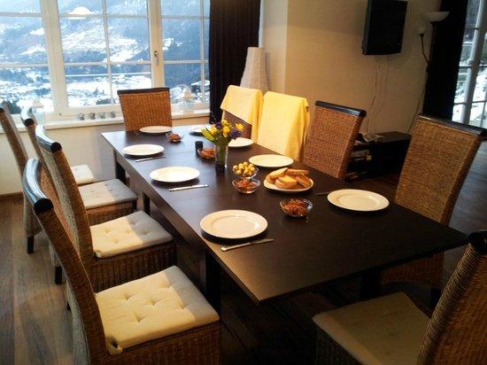 Appartementhotel Sonnenwende : Dining room