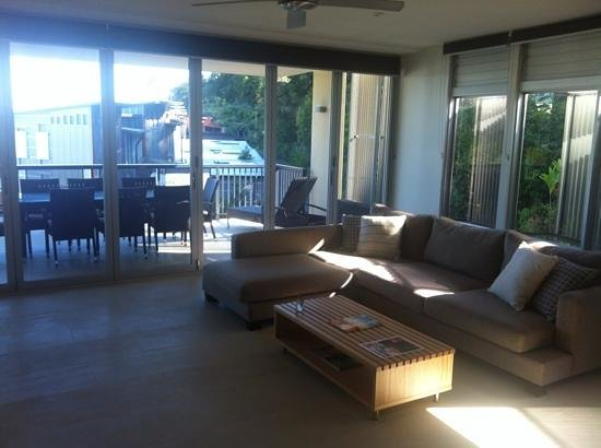 Peppers Noosa Resort and Villas: 3 x Pentouse Living Area