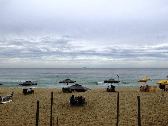 Praia de Maresias: Tarde nublada