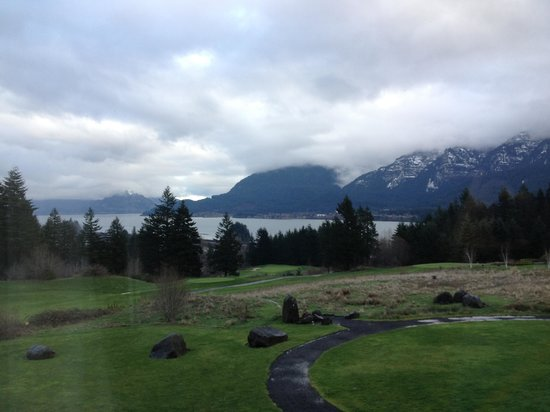 Skamania Lodge: View from our room