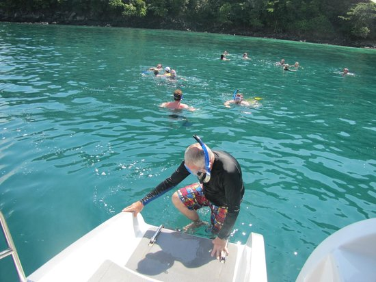 Epic Charters: Snorkelling on Monkey island