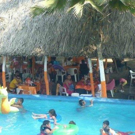 "Barra Vieja Beach: RESTAURANT""LLUVIAS DEL MAR"""