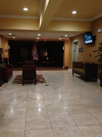 Sleep Inn & Suites Huntsville: lobby