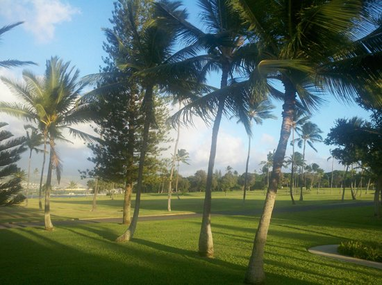 Navy Lodge Hawaii: View of Golf Course from the Navy Lodge