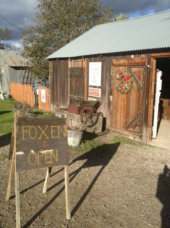 "Foxen Vineyard: The original ""Tasting Shack"" at 7200 Foxen Cyn Rd"