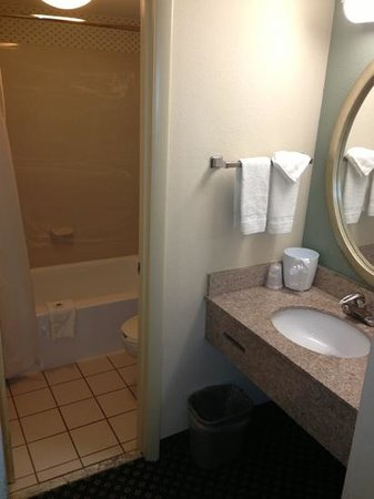 Motel 6 Indianapolis North East: bathroom