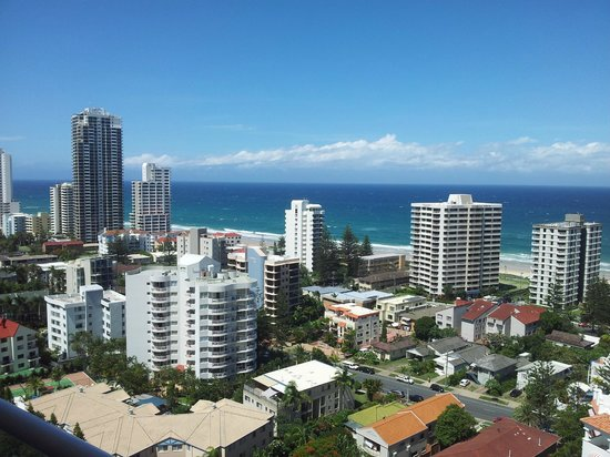 Crowne Plaza Surfers Paradise: The View from Room 1707