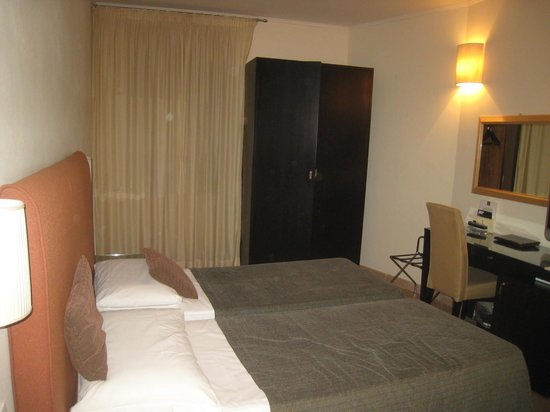 Hotel Globus: A standard double room