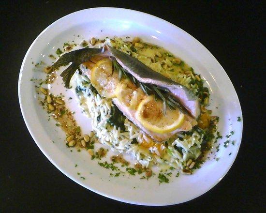 Mamma Susanna's Ristorante Italiano: Special Trout dish