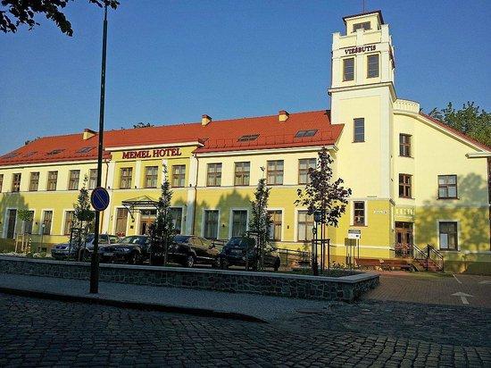 Front of Memel Hotel