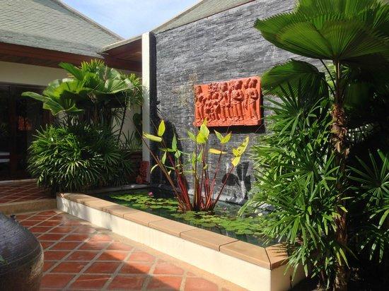 Miskawaan Luxury Beachfront Villas: front entrance of my villa