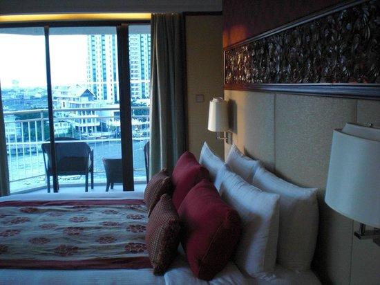 Shangri-La Hotel,Bangkok: デラックスの部屋