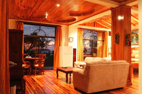 Hotel San Bada: Suite Mogote living area